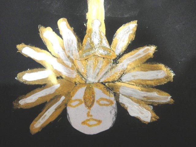 Deity in Brahmarandra Chakra